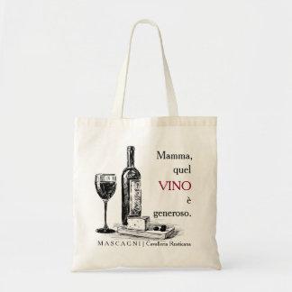 Opera & Wine Tote Bag