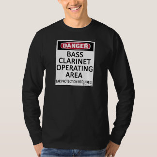 Operating Area Bass Clarinet T-Shirt