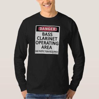 Operating Area Bass Clarinet Tee Shirt