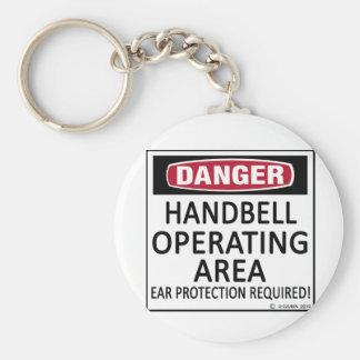 Operating Area Handbell Key Ring