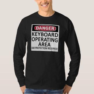 Operating Area Keyboard T-Shirt
