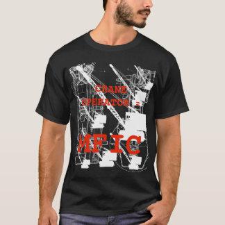 Operating Engineer = MFIC Vintage Crawler Crane T-Shirt