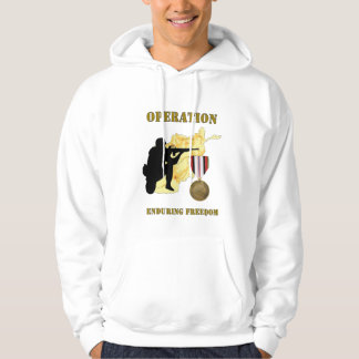 Operation Enduring Freedom Afghanistan War Hoodie