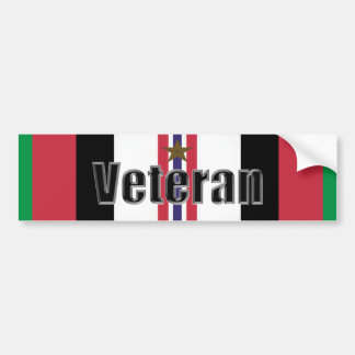 Operation Enduring Freedom Veteran Bumper Sticker