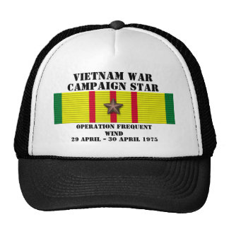 Operation Frequent Wind Campaign Mesh Hats