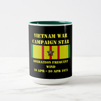 Operation Frequent Wind / Campaign Two-Tone Coffee Mug
