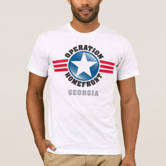 Operation Homefront Georgia T-Shirt