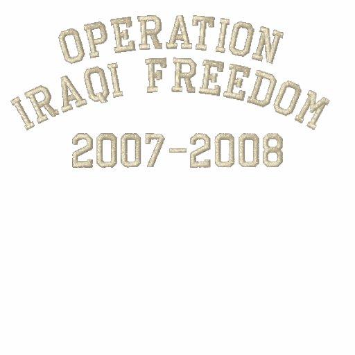 Operation Iraqi Freedom Polo Shirt