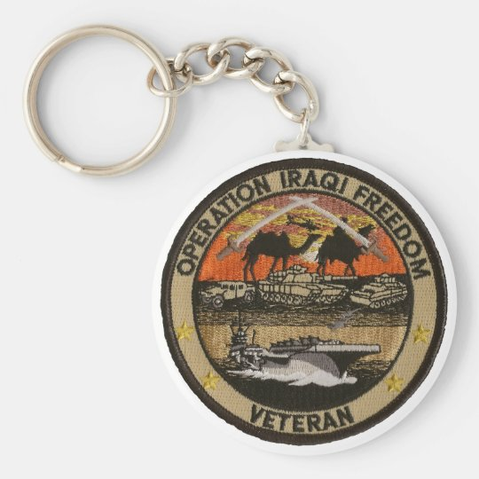 Operation Iraqi Freedom Keychain