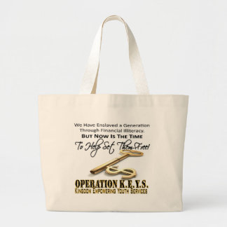 Operation KEYS Canvas Bag