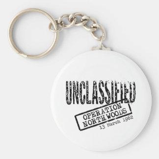 Operation Northwoods Basic Round Button Key Ring