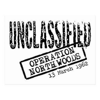 Operation Northwoods Postcard
