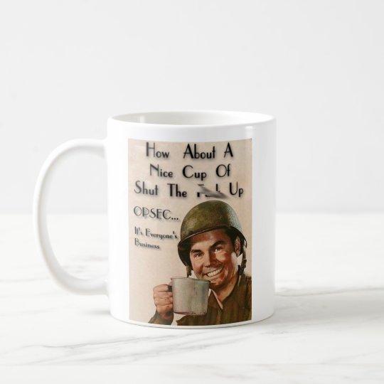 OPERATION PMF - stfu-cup Coffee Mug