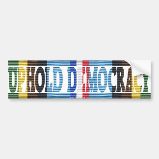 Operation Uphold Democracy Haiti Vet AFEM Sticker Bumper Sticker