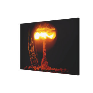 Operation Upshot Knothole, CLIMAX Event Canvas Print