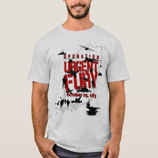 Operation Urgent Fury action t-shirt