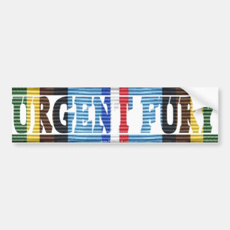 Operation Urgent Fury Grenada Vet AFEM Sticker Bumper Sticker