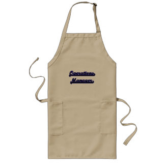 Operations Manager Classic Job Design Long Apron