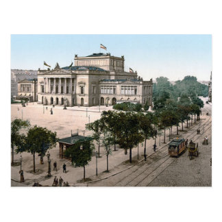 Opernhaus Opera House Leipzig Germany Post Card