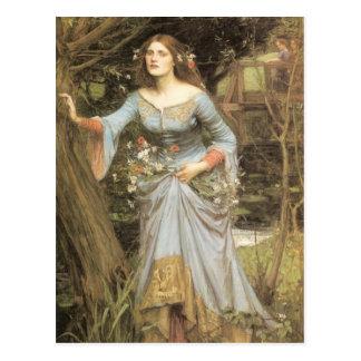 Ophelia (1905) postcard