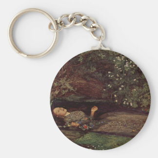 Ophelia by John Everett Millais Key Ring