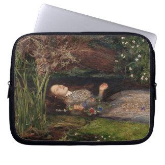 Ophelia by John Everett Millais Computer Sleeve
