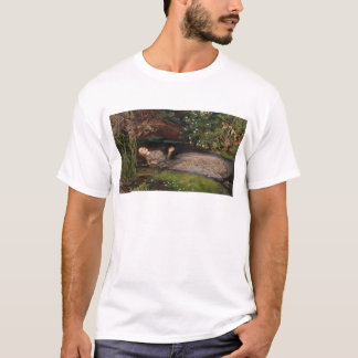 Ophelia by John Everett Millais T-Shirt