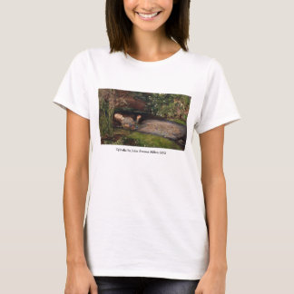 Ophelia by John Everett Millais T-Shirt