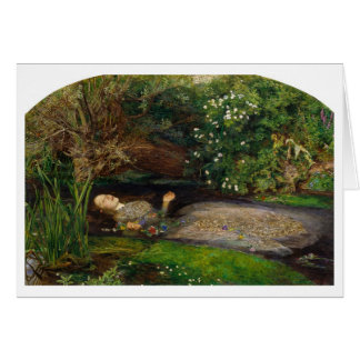 Ophelia by Millais Greeting Card