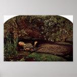 Ophelia By Millais, John Everett (Best Quality) Poster