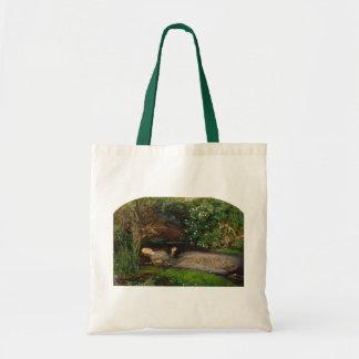 Ophelia by Millais, Tote Bag