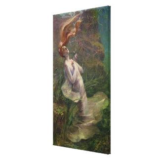 Ophelia Drowning, 1895 Canvas Print