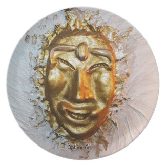 OPHIRE-ART LAUGHING FACE PLATE