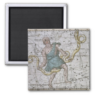 Ophiuchus or Serpentarius, from 'A Celestial Atlas Magnet