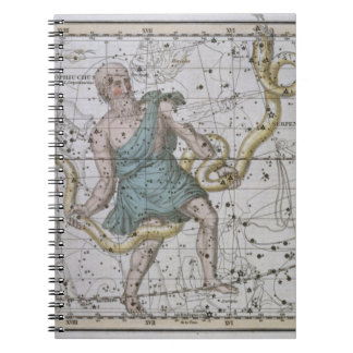 Ophiuchus or Serpentarius, from 'A Celestial Atlas Notebooks