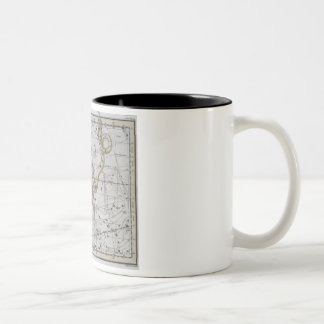 Ophiuchus or Serpentarius, from 'A Celestial Atlas Two-Tone Coffee Mug