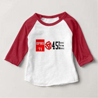 OPHS '71 45rpm Baby 3/4 Sleeve Raglan T-Shirt