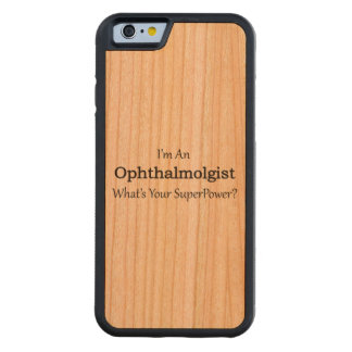 Ophthalmologist Carved Cherry iPhone 6 Bumper Case