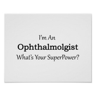 Ophthalmologist Poster