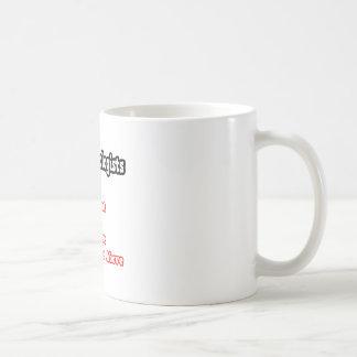 Ophthalmologist Quiz...Joke Basic White Mug