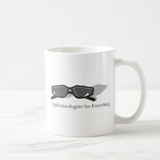 Ophthalmologists See Everything Basic White Mug