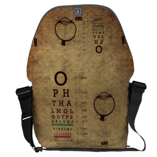 Ophthalmology Pearls VA Large Messenger Bag