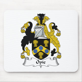 Opie Family Crest Mouse Mats
