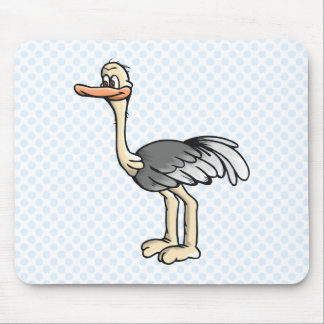 Opie Ostrich Mouse Pads