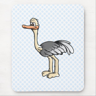 Opie Ostrich Mouse Pad