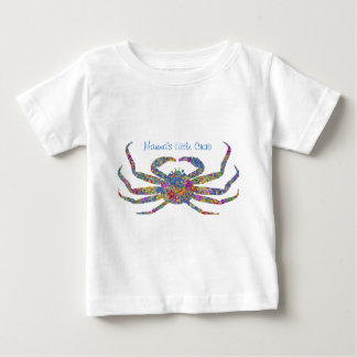 Opilio Crab in Blue With Stars Baby T-Shirt