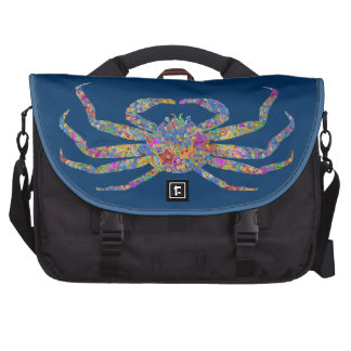 Opilio Crab in Blue With Stars Commuter Bag