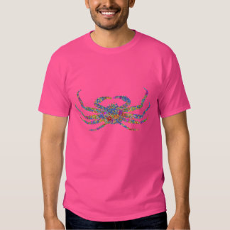 Opilio Crab in Blue With Stars Tee Shirt