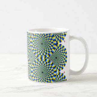 OpIllusion Classic White Coffee Mug