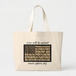 OpLove Totebag Large Tote Bag